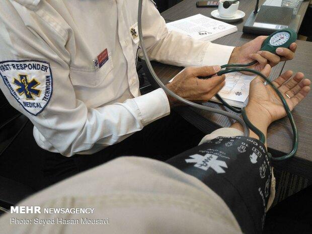 ثبت فشار خون بیش از ۱۴ میلیون نفر در کشور