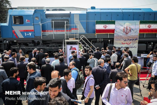 Iran Rail Expo 2019 underway in Tehran