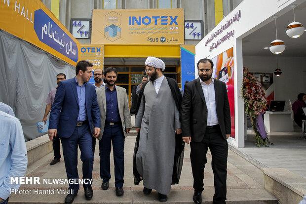 بازدید رئیس سازمان تبلیغات اسلامی از نمایشگاه اینوتکس ۲۰۱۹