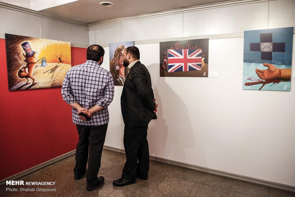 افتتاح نمایشگاه کاریکاتور «آسوده باش، من ملکه ام»