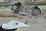 واژگونی خودرو حامل قاچاق در استان فارس منجر به مرگ راننده شد