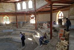عملیات ساخت سالن باستانی نهاوند ۹۰ درصد پیشرفت فیزیکی دارد