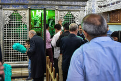 Dust-cleaning ceremony of Shah Abdol-Azim shrine