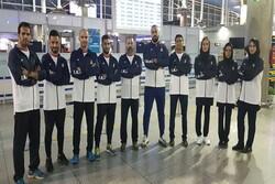 Iran's Savate team leaves Tehran for Tunisia