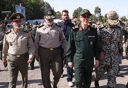 سرلشکر باقری از دستاوردهای پدافندی ارتش بازدید کرد