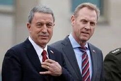 ترکیه: نامه وزیر دفاع آمریکا به ترکیه خلاف اتحاد میان دو کشور بود