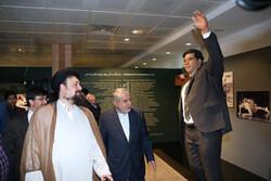 سیدحسن خمینی از موزه ملی ورزش بازدید کرد
