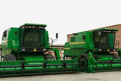 Iran exports over $500,000 worth of combine this year