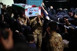 تہران میں کمانڈر حیدر کے پیکر سے الوداعی تقریب منعقد