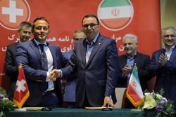امضای تفاهمنامه همکاری میان شرکت تبریزی وسوئیسی در حوزه داروسازی