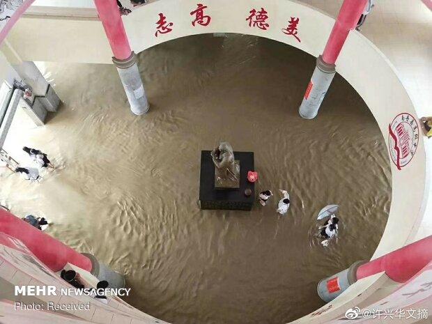 سیل در جنوب و شرق چین