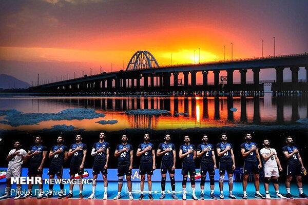 ارومیه, دریاچه ارومیه, لیگ ملت های والیبال, والیبال, تیم ملی والیبال ایران