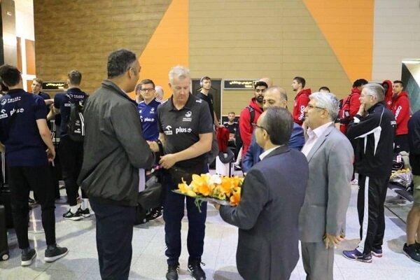 تیم های والیبال حاضر در لیگ ملت ها وارد ارومیه شدند