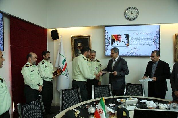 نیروی انتظامی, سازمان ملی زمین و مسکن, سردار محمد شرفی, حکم انتصاب