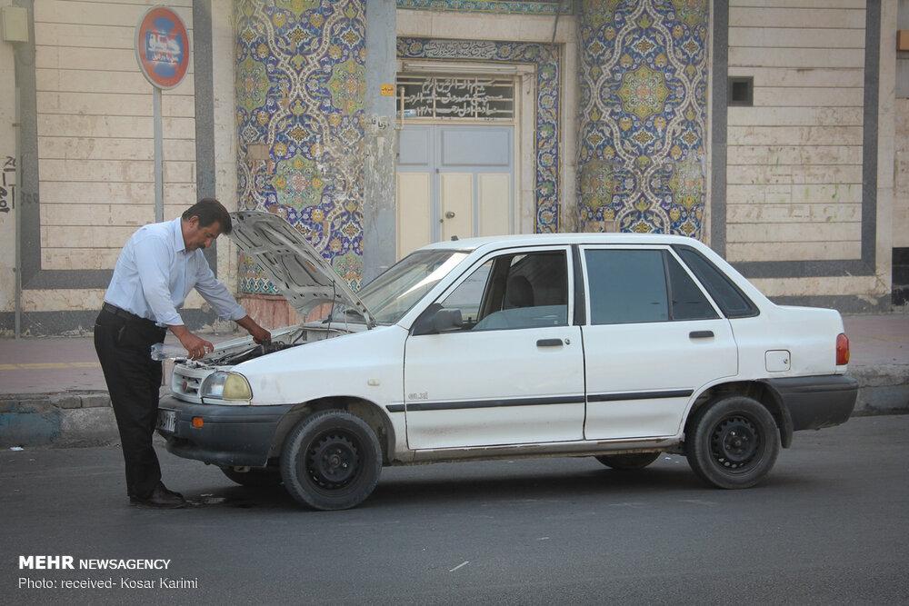 گرمای ۵۰ درجه در خوزستان