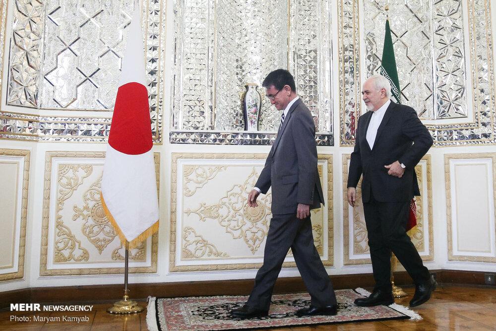 دیدار وزرای خارجه ایران و ژاپن