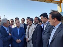 بازدید وزیر اقتصاد و دارایی از گمرک بندر امام خمینی