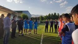 حضور مارک ویلموتس در تمرین تیم فوتبال نوجوانان ایران