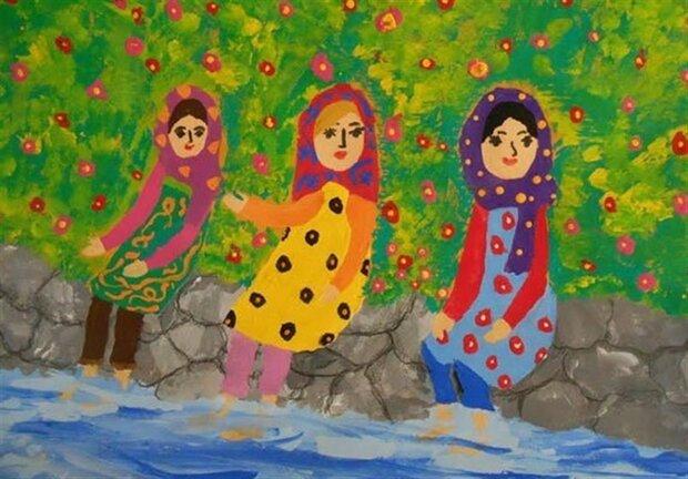 ۹ کودک کرمانشاهی نشان و دیپلم افتخار هنر بلاروس را کسب کردند