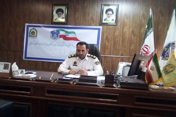 کاهش ۳۸ درصدی تصادفات فوتی در غرب استان تهران طی بازه ۲ ماهه