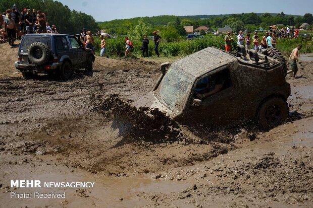 مسابقه رانندگی آفرود در مجارستان
