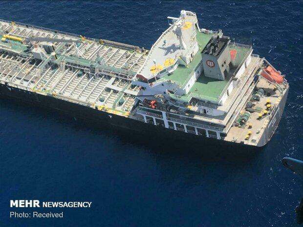 حمله به ۲ نفتکش در دریای عمان