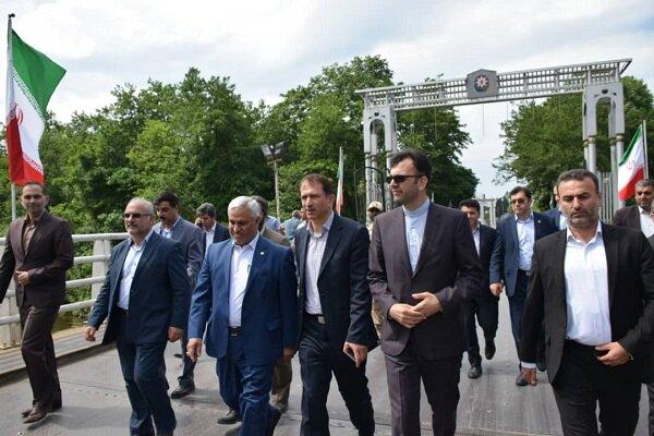 رئیس کل گمرک ایران از زیر ساخت های اقتصادی آستارا بازدید کرد