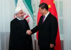 ایران اور چين کی صدور کی شانگہائی اجلاس کے ضمن میں ملاقات