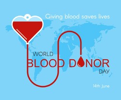 World Blood Donor Day 2019: save lives by donating blood regularly