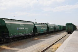 Cargo transportation via Astara railway grows