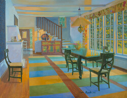 """Interior"" by Carin Bengts."