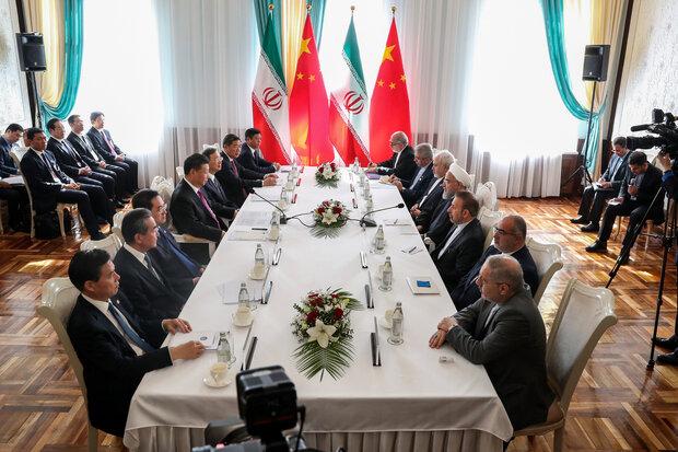 الرئيس روحاني: علاقاتنا مع الصين كانت وستظل دائما استراتيجية