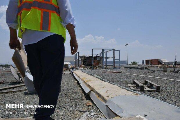 بمباران فرودگاه سعودی «أبها» توسط یمن