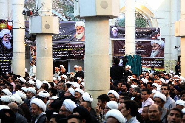 مراسم گرامیداشت آیت الله محقق کابلی در قم برگزار شد