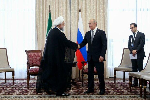روحاني: الوضع في الشرق الأوسط يستلزم تعاونا أكبر بين روسيا وإيران