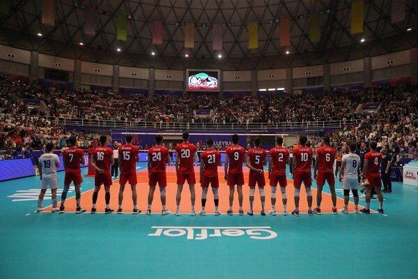 حمایت پرشور تماشاگران پایتخت والیبال آسیا از تیم ملی