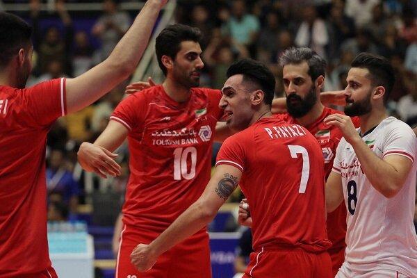 امیر غفور, لیگ ملت های والیبال, تیم ملی والیبال ایران
