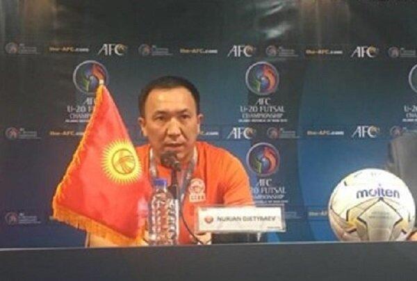 سرمربی قرقیزستان: امروز از لبنان ضعیفتر بودیم