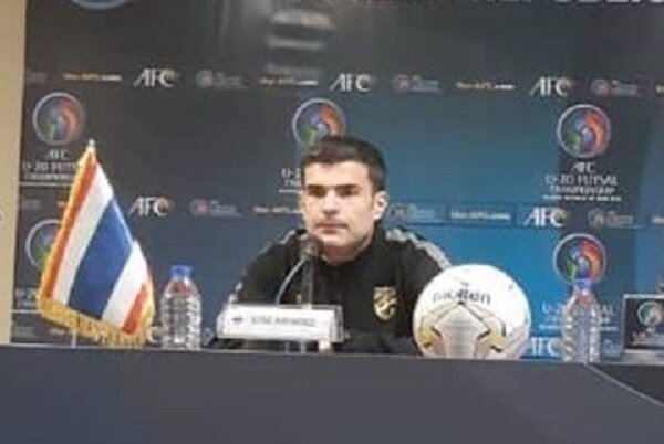 سرمربی تایلند: از عملکرد بازیکنان تیمم راضی نیستم