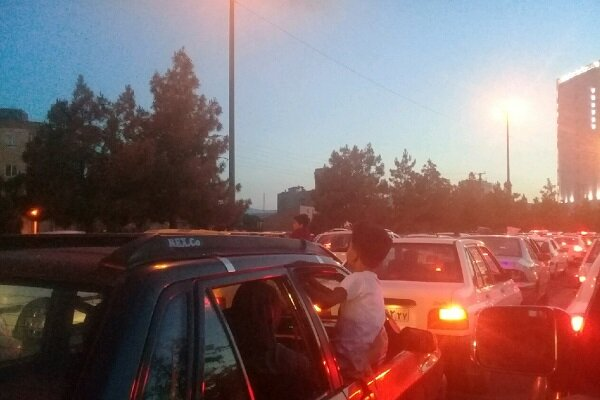 مردم ارومیه کارناوال شادی به راه انداختند