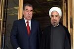 روحاني يلتقي نظيره الطاجيكي في دوشنبه