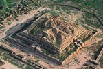 Ziggurat of Choga Zanbil magnificent ruins