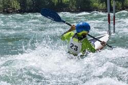 مسابقات قایقرانی اسلالوم قهرمانی کشور در یاسوج آغاز شد