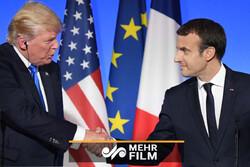 امریکہ اور فرانس کے درمیان تجارتی جنگ چھڑ گئی