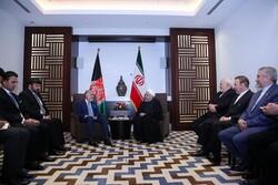 Ruhani: İran, Afganistan'ın güvenlik ve istikrara kavuşmasını istiyor