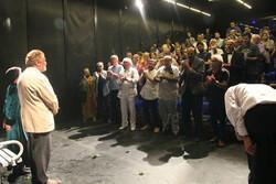 افتتاح نمایش «یک زن یک مرد» با حضور هنرمندان