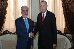 اردوغان با عبداللهعبدالله در دوشنبه دیدار کرد