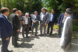 آیین بهره برداری از طرح های عمرانی فیروزکوه برگزار شد