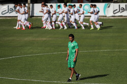 Iran U23 football team first training under Majidi