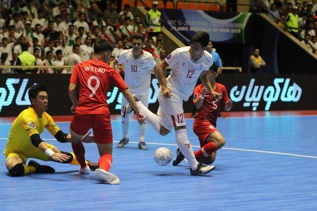 برتری ژاپن برابر ایران/ تیم فوتسال امید ایران به فینال نرسید